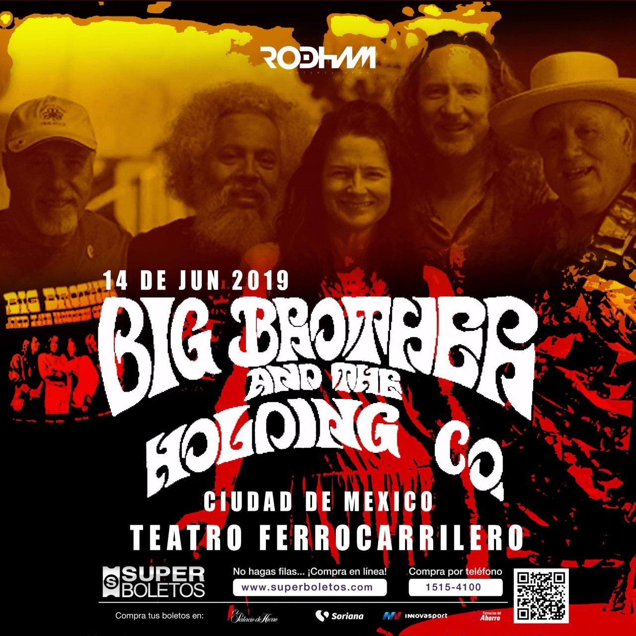 Se presenta banda Big Brother Holding Co.