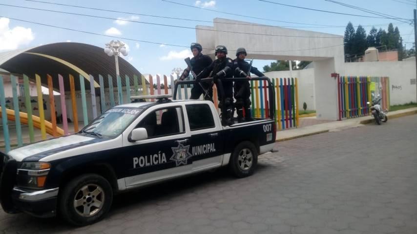 En Exquitla reforzaremos la seguridad con operativos y filtros: comisario