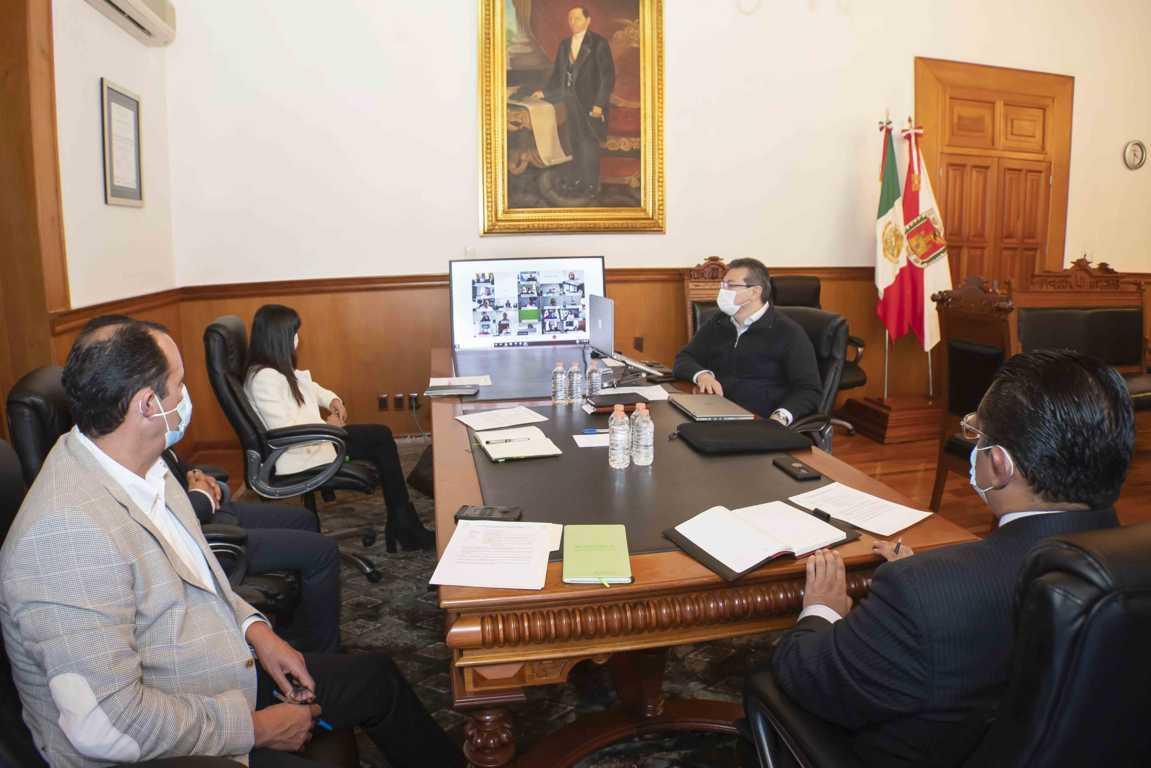 Marco Mena y Conago dan seguimiento a estrategia federal de vacunación contra Covid-19