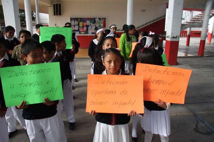 Se suma Totolac a la lucha contra el cáncer infantil en el mundo
