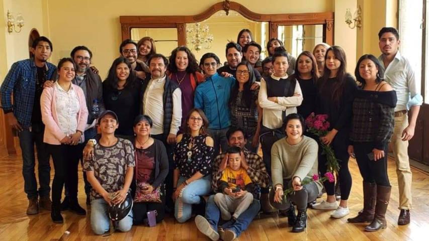 Se reúne el director del Centro Cultural Helénico con 20 tlaxcaltcaltecas