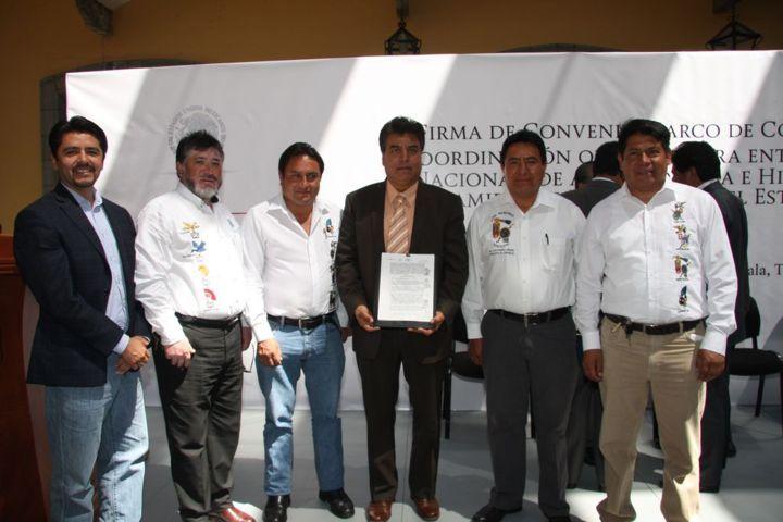 Firma convenio Totolac con INAH para preservar y difundir patrimonio histórico
