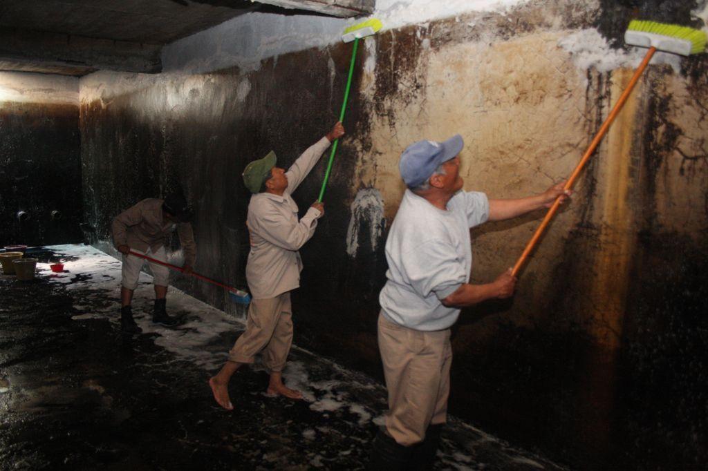 Anuncian el restablecimiento del servicio de agua potable en Totolac