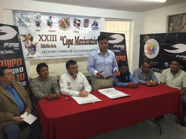 Lanzan convocatoria para la 23 edición de copa Maxixcatzin