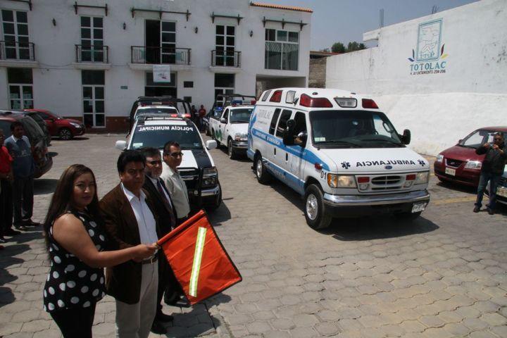 Arranca Totolac operativo de auxilio a vacacionistas