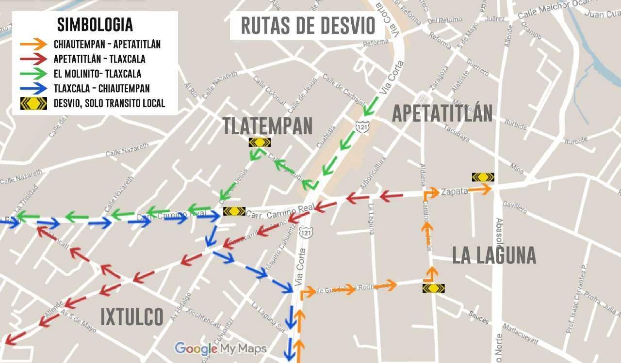Recomiendan tomar precauciones en viaducto San Pablo-Apetatitlán del 19 al 22 de Abril