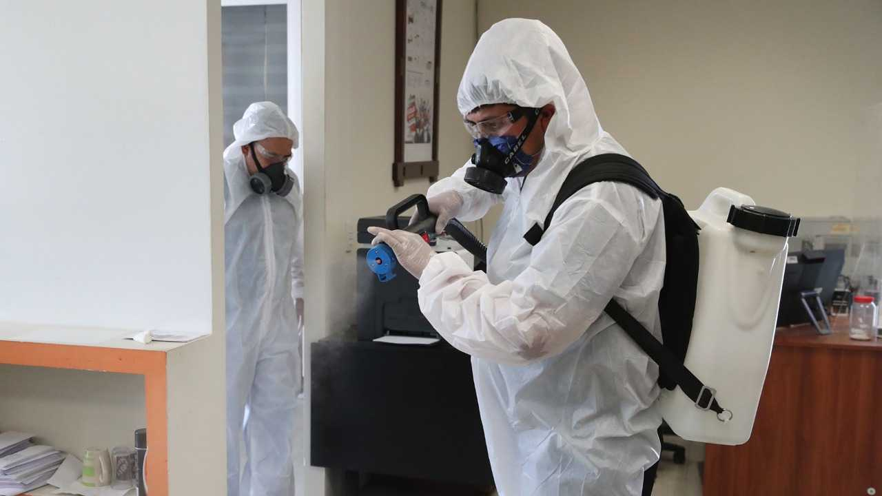 Realiza SEPE-USET jornada de desinfección en oficinas centrales