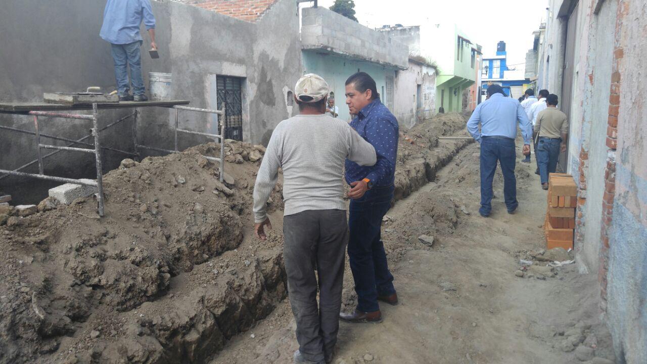 Valentín Gutiérrez promueve obras de impacto social