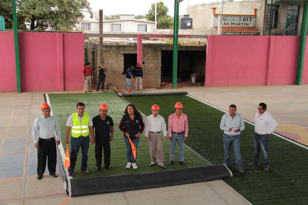 Transforman radicalmente espacio deportivo para una mejor práctica del deporte en Totolac