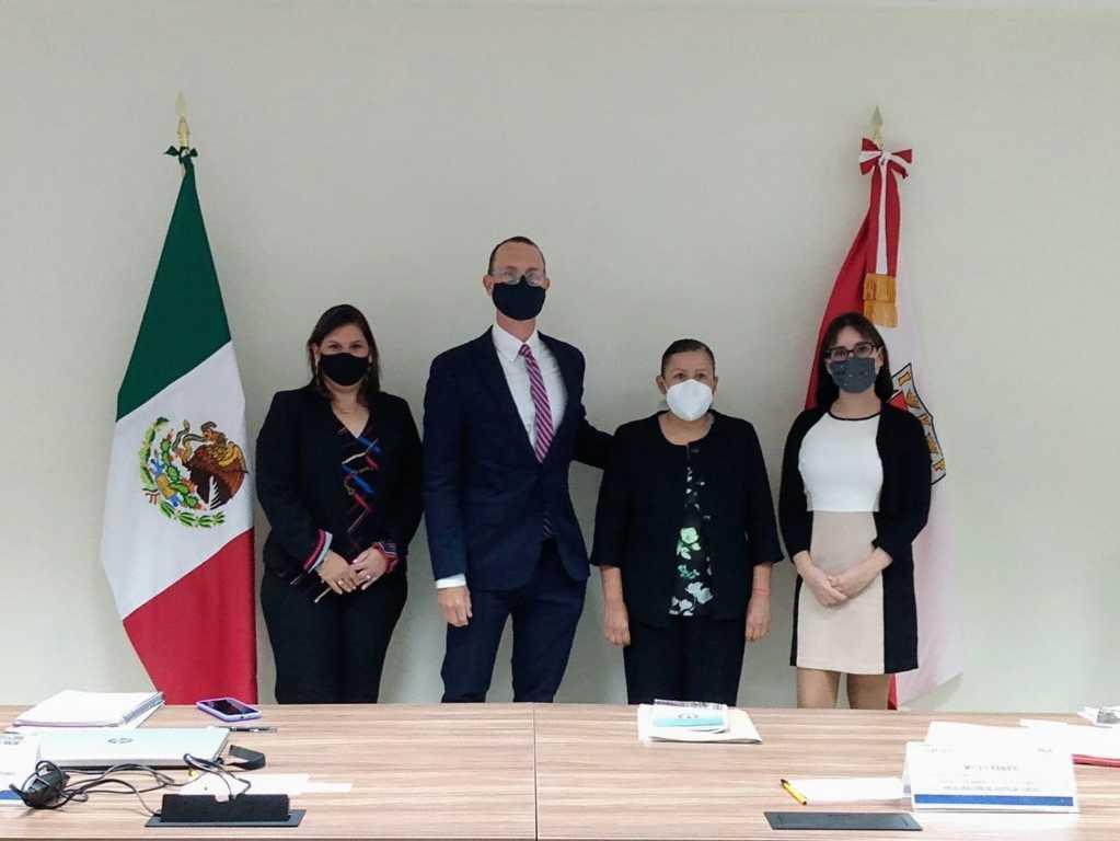 Tlaxcala y EU acuerdan cooperación contra la violencia de género