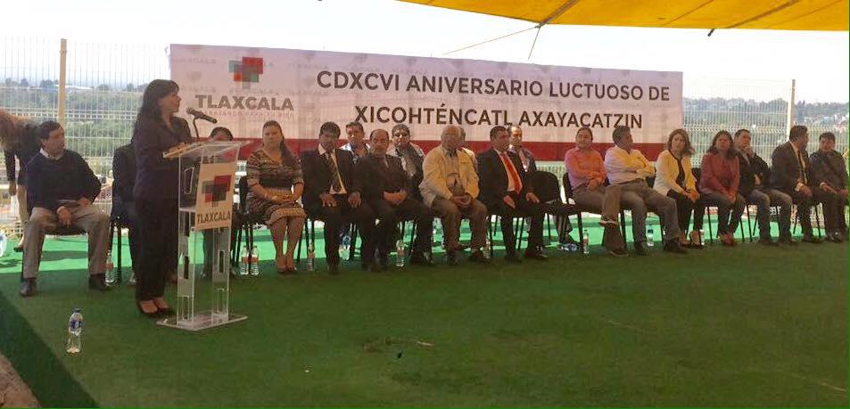 Conmemora capital Aniversario Luctuoso de Xicohténcatl Axayacatzin