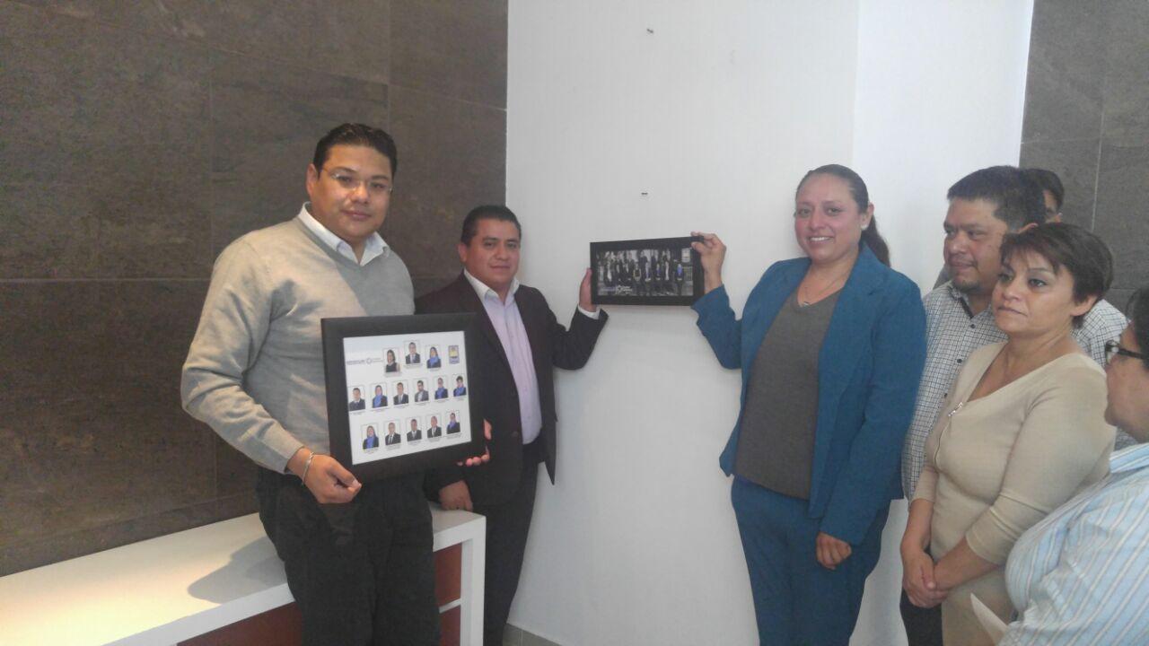 Galería del H. Cabildo de Apetatitlán, señal de buen gobierno: VGH