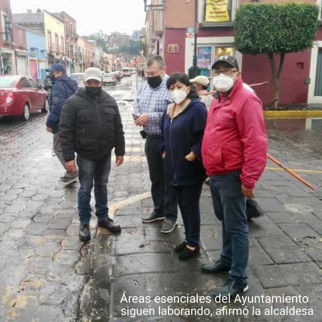 Exhorta Anabell Ávalos a respetar medidas de higiene ante la pandemia