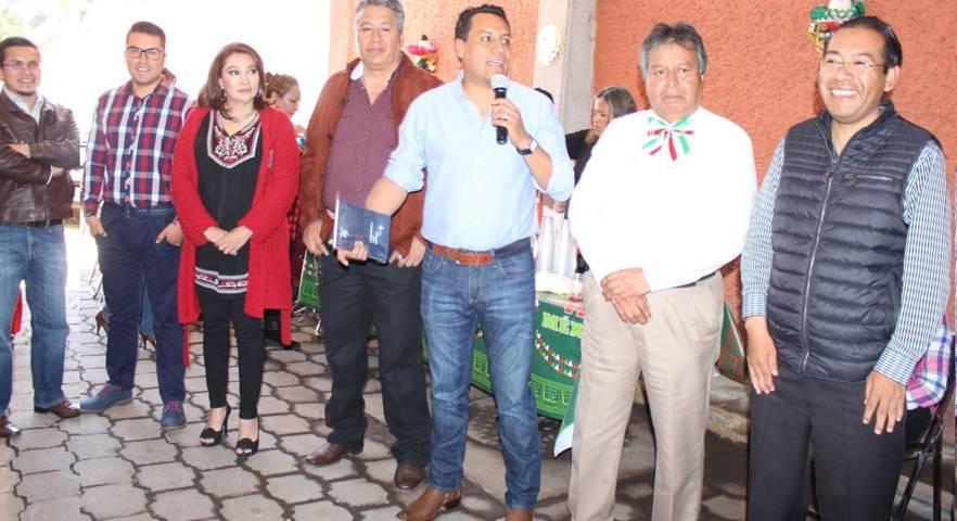 Diputados locales recibieron a trabajadores del Poder Legislativo