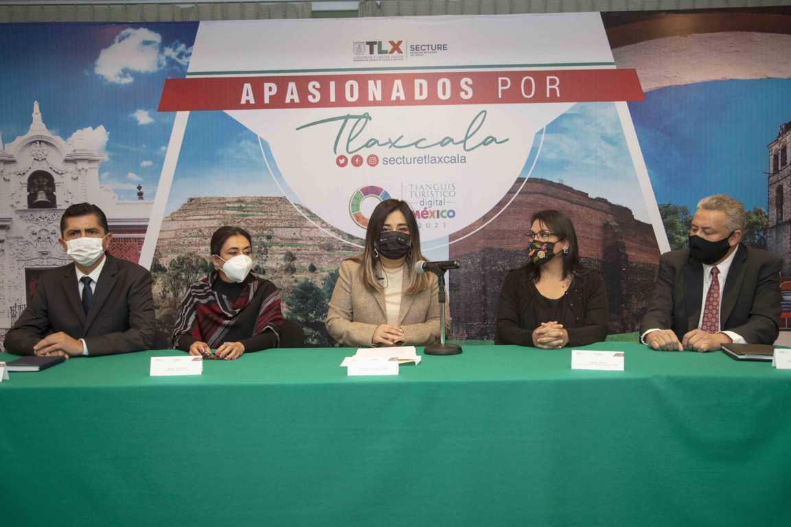 Participará Tlaxcala en Tianguis Turístico Digital México 2021: SECTURE