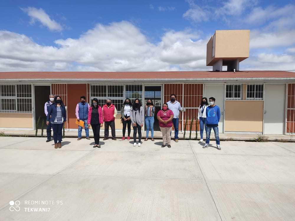 Concluye construcción de un plantel COBAT-TBC en Cuapiaxtla