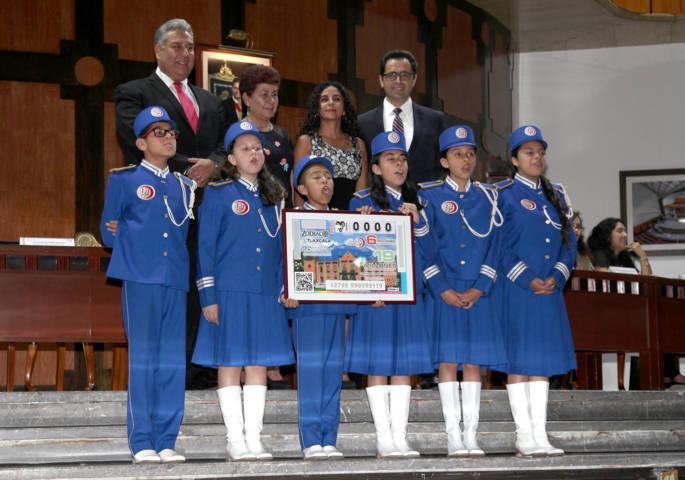 Celebra ITC su 35 Aniversario con sorteo de la Lotería Nacional