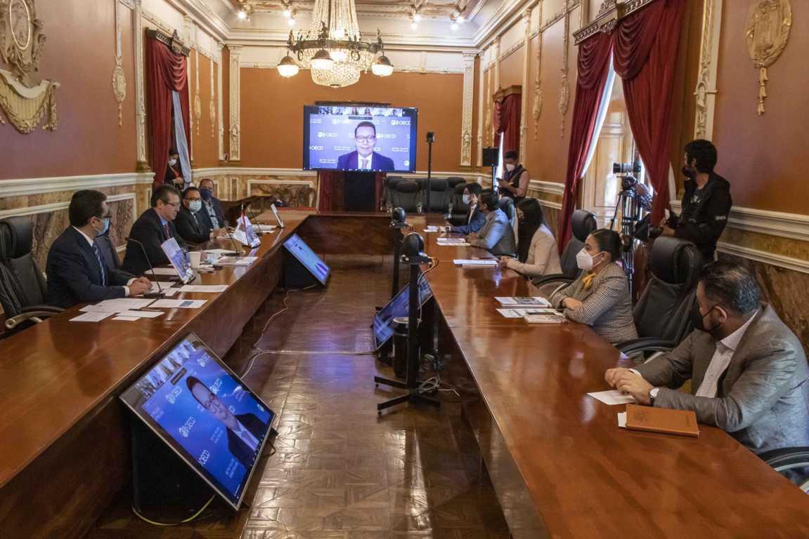 Presentan estudio de competencias, destrezas y habilidades de la OCDE en Tlaxcala