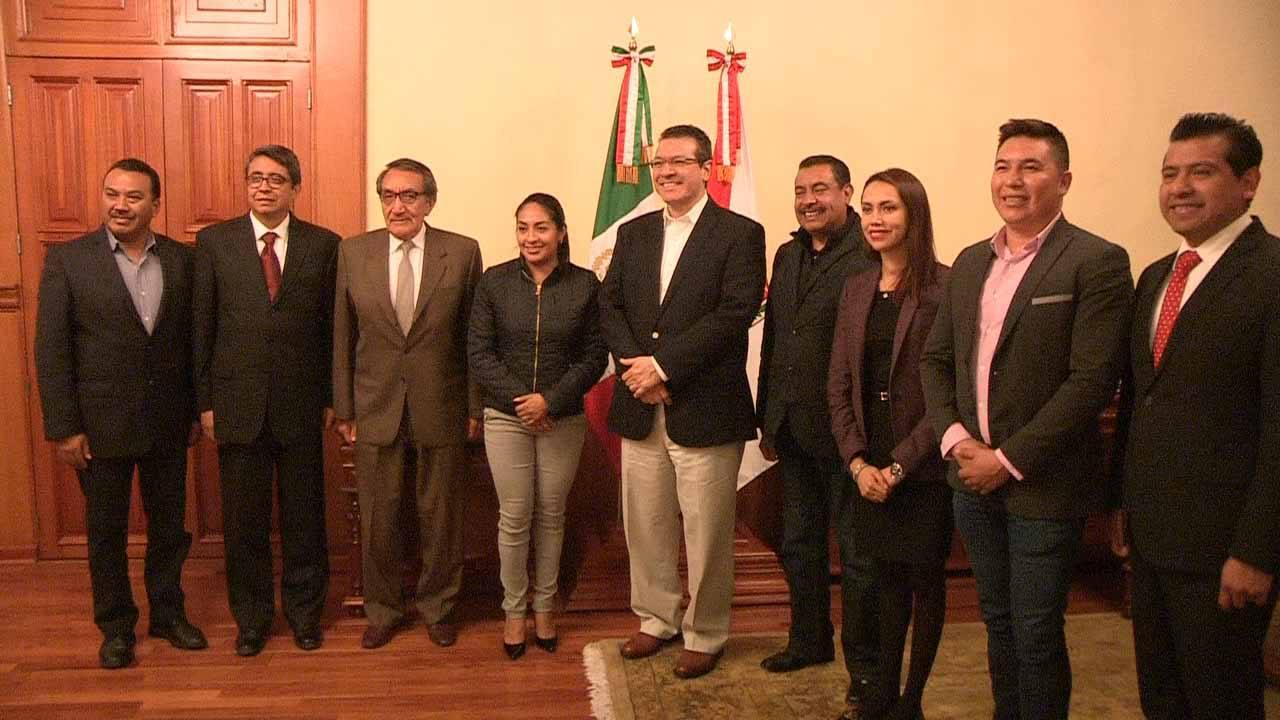 Se reúne Marco Mena con nuevo procurador de Tlaxcala
