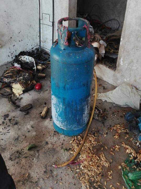 Fuerte explosión se registró en un local de tortillas en Yancuitlalpan