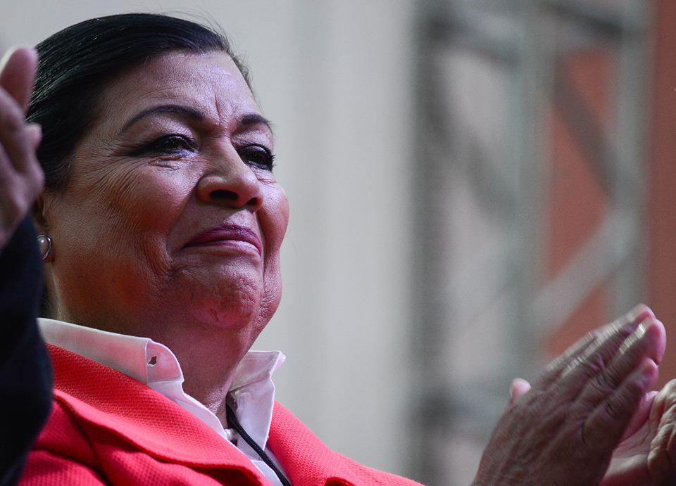 Asiste Martha Palafox a Consejo Político Nacional de Morena