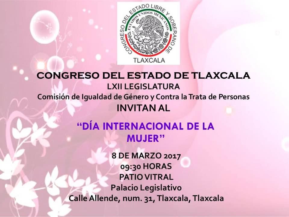 Invita Guadalupe Sánchez Santiago a evento de conmemoración del día internacional de la mujer