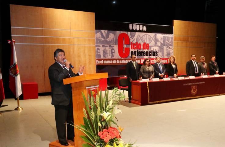 Celebró UAT ciclo de conferencias por el Día del Criminólogo