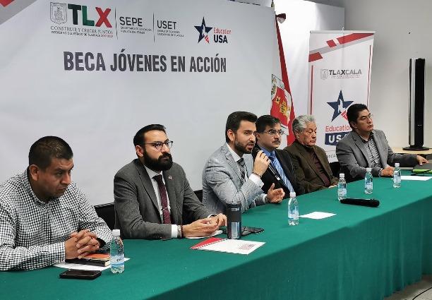 """Presenta Sepe y Embajada de Estados Unidos programa """"Jóvenes en Acción"""""""