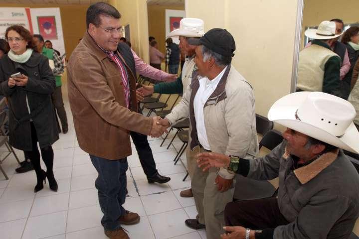 Toma protesta SEFOA a consejos de desarrollo rural de Cuapiaxtla y Altzayanca