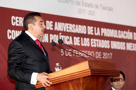 En el gobierno de Mena adiós al chantaje, autoritarismo y corrupción