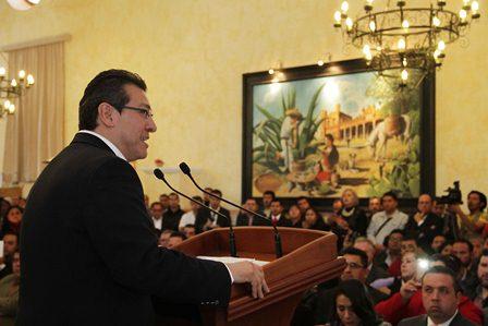 Creció Tlaxcala 9% en empleos formales: Marco Mena