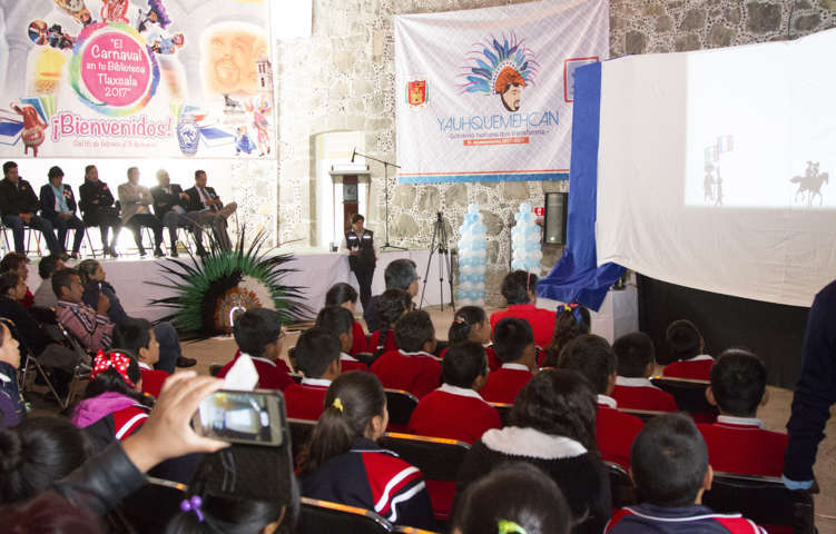 Incia programa ´El Carnaval en tu Bliblioteca Tlaxcala 2017´