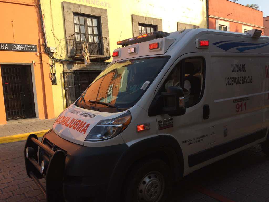 Brinda SESA atención médica oportuna a lesionados de accidente con gas en Huamantla
