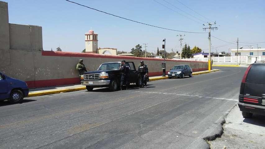 Implementan operativo policiaco en Coaxomulco