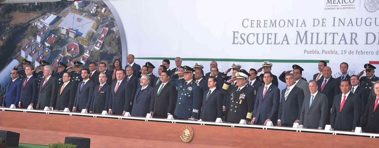 Se suma Mena al reconocimiento del Presidente a las fuerzas armadas