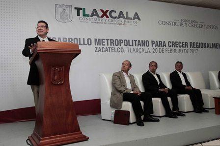 Propone Marco Mena desarrollo metropilitano para crecer