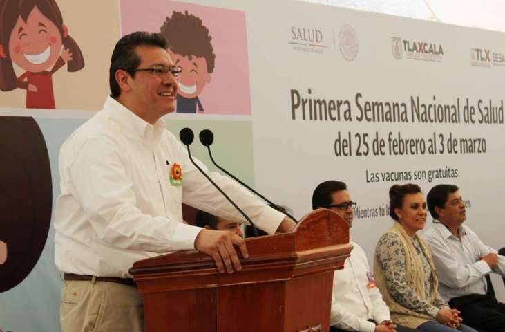 En salud trabajamos juntos para prevenir: Marco Mena