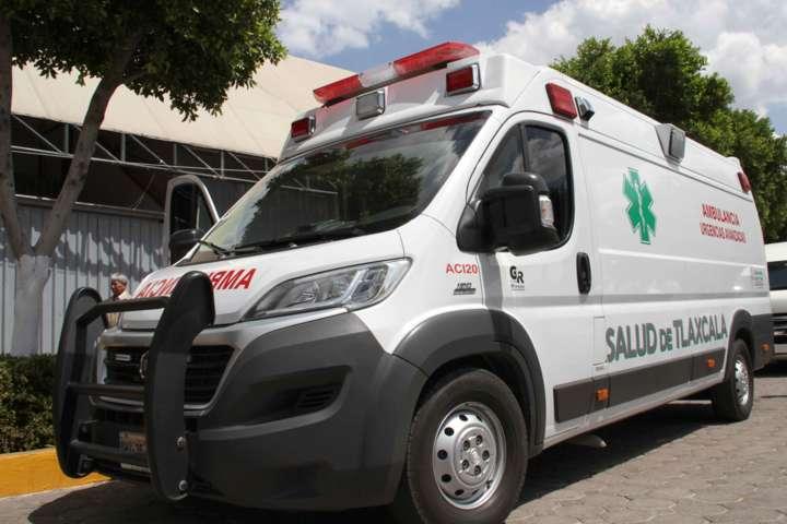 Brinda SESA atención médica a lesionados en Calpulalpan
