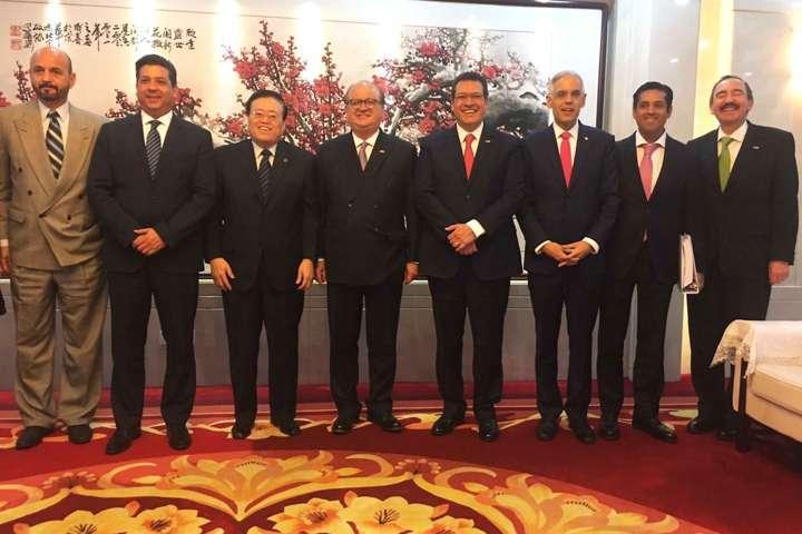 Se reúne Marco Mena con ministro de relaciones exteriores de China