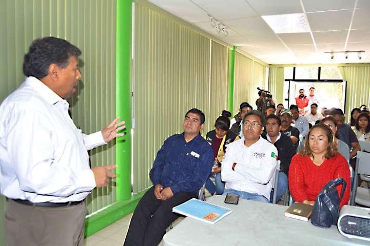 Capacita CGE a municipios en materia ambiental