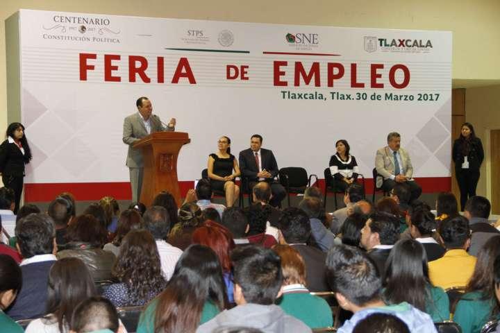 Tres mil vacantes oferta la Primera Feria Estatal de Empleo