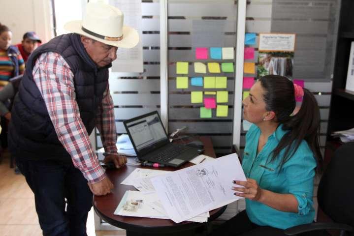 Continúa SEFOA con inscripción de productores a programas de apoyo