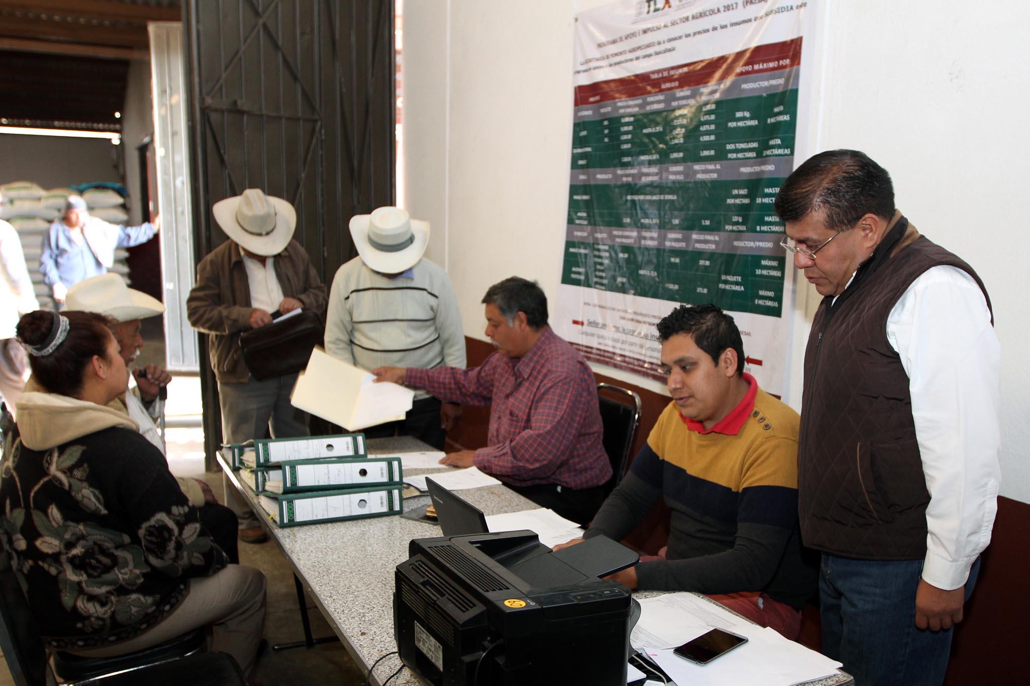 Registra 13 mil inscritos padrón único de productores agropecuarios de la Sefoa