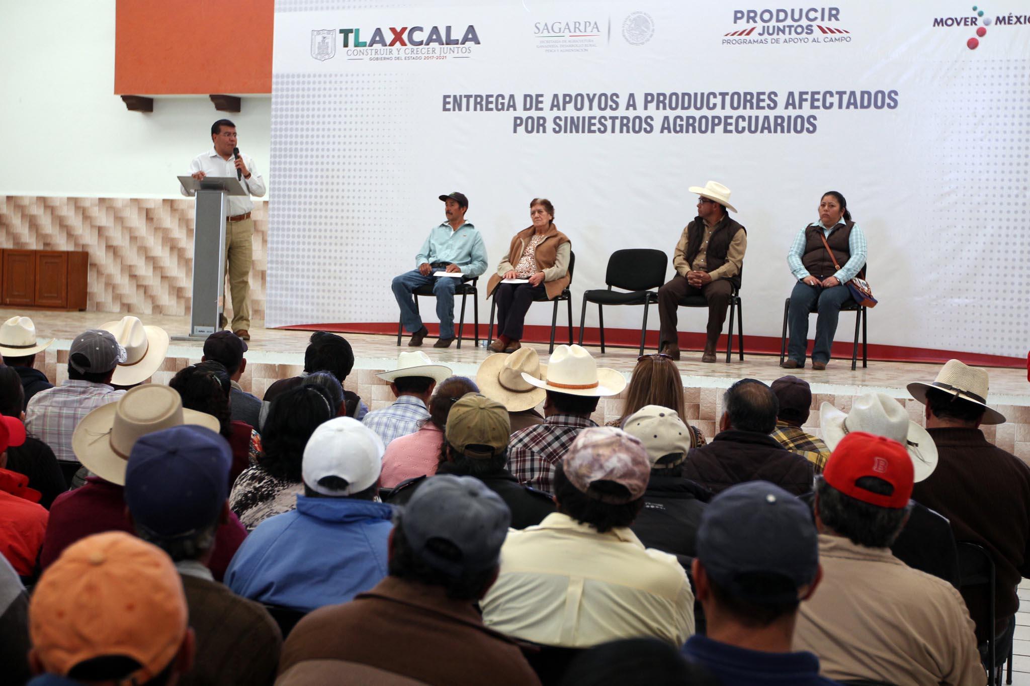 Nuestro objetivo es respaldar a los productores: Ramírez Conde