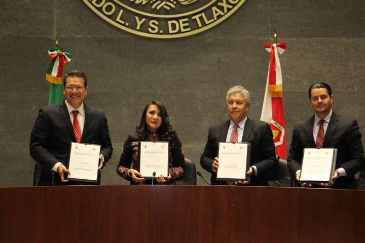 En el Gobierno nos esmeramos por mejores condiciones en Tlaxcala: Marco Mena