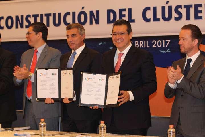 Puebla y Tlaxcala consolidan Clúster Automotriz de la Zona Centro