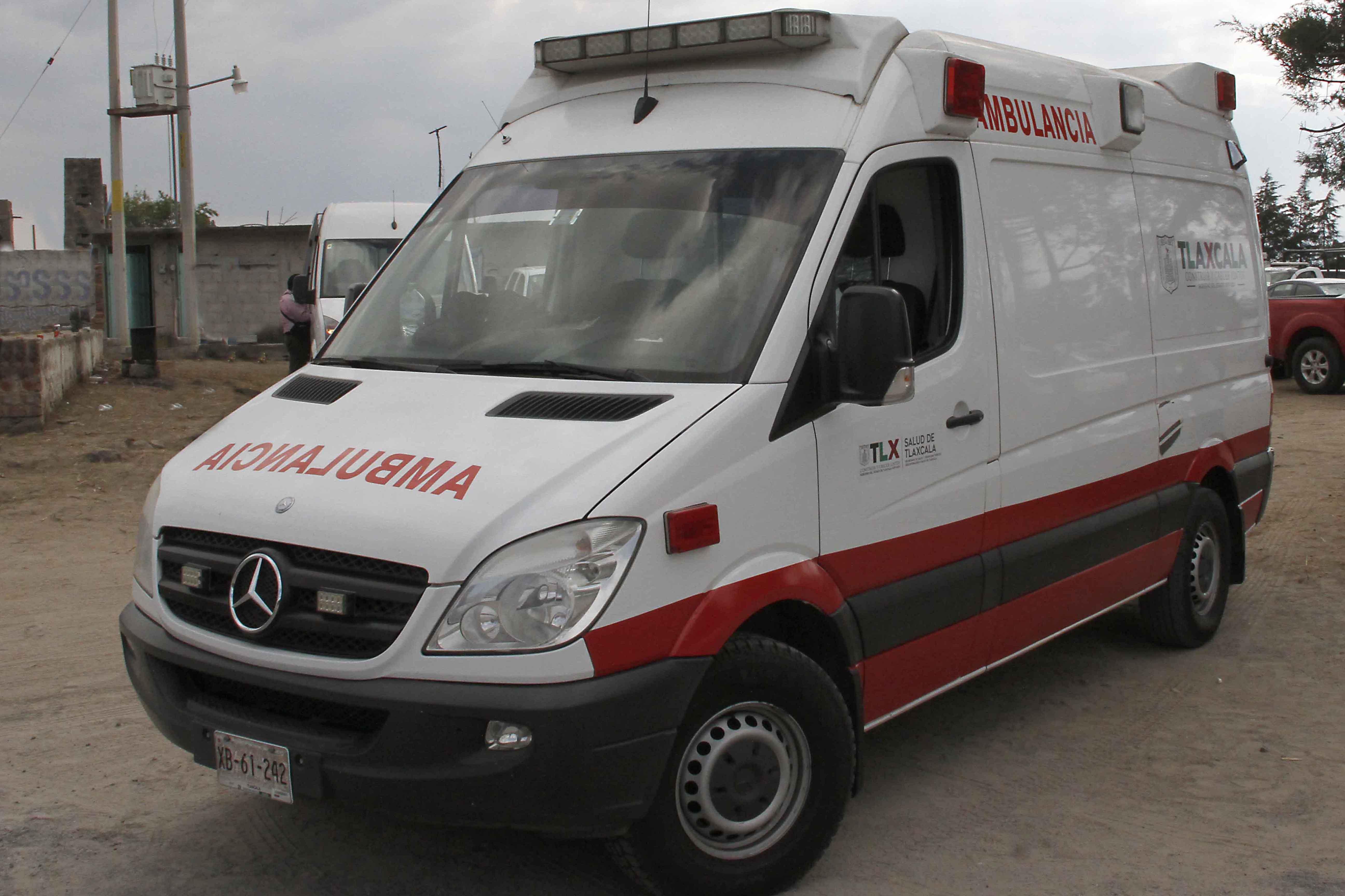 Atiende CES y SESA a heridos de accidente en Terrenate
