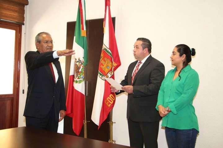 Rinde protesta Ramón Rafael como Consejero Jurídico