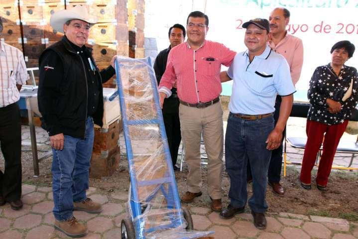 Apoya Gobierno del Estado a productores apícolas