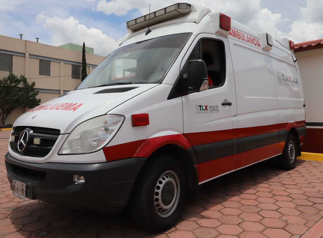 Atiende SESA a lesionados por granizada en Tetla